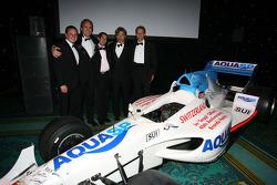 A1 Team Switzerland with Neel Jani, driver of A1 Team Switzerland