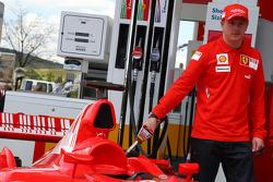 Kimi Raikkonen, Scuderia Ferrari and, Shell Press Conference