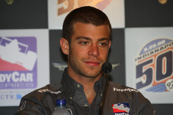 Ernesto Viso during a press conference