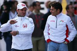 Rubens Barrichello, Honda Racing F1 Team, Giancarlo Fisichella, Force India F1 Team