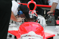 Brian Barnhart reviews qualifying with Helio Castroneves