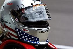 Marco Andretti's helmet