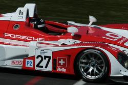 #27 Horag Racing Porsche RS - Spyder: Jan Lammers, Didier Theys, Fredy Lienhard