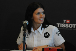 Danica Patrick at the Tissot sponsorship signing