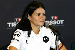 Danica Patrick during the Tissot press conference