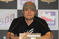 Townsend Bell at the press conference