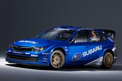 The new Subaru World Rally Team Subary Impreza WRC2008