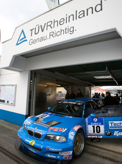 Scuderia Augustusburg Brühl e.V. im ADAC BMW M3 E46 GTS at technical inspection