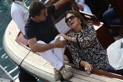 Slavica Ecclestone, Wife to Bernie Ecclestone and Jean Alesi