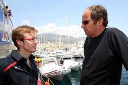 Sébastien Bourdais, Scuderia Toro Rosso and Gerhard Berger, Scuderia Toro Rosso, 50% Team Co Owner