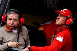 Jean Todt, Scuderia Ferrari, Ferrari CEO, Michael Schumacher, Test Driver, Scuderia Ferrari