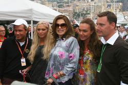 Gavin Dein, Petra Ecclestone, Daughter of Bernie Eccelestone, Slavica Ecclestone, Wife to Bernie Ecclestone, Tamara Ecclestone, Daughter of Bernie Eccelestone