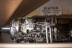 SNECMA jet engine of the Spirit of America land speed record car