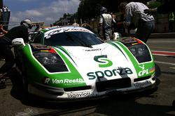 #24 Gravity Racing International Mosler MT 900: Anthony Kumpen, Bert Longin