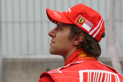 Luca Badoer, pilote d'essai, Scuderia Ferrari