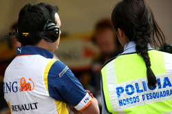 Renault F1 Team and the Spanish Police