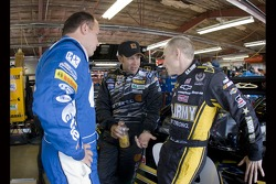 Ryan Newman, Matt Kenseth, and Mark Martin