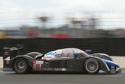 标致道达尔车队8号标致908 HDi-FAP赛车:斯蒂芬·萨拉赞、佩德罗·拉米、亚历山大·伍尔兹