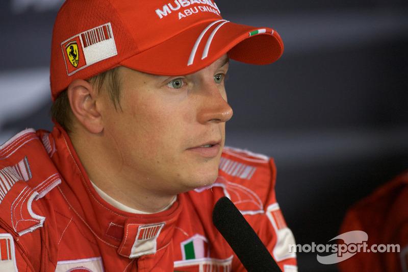 Post-race press conference: Kimi Raikkonen
