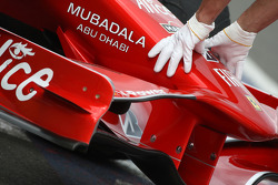 Felipe Massa, Scuderia Ferrari nose cone