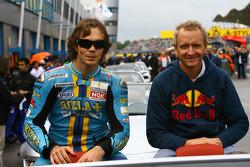 Chris Vermeulen et Kevin Schwantz