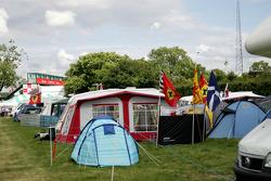 Silverstone campsite