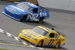 Sam Hornish Jr. and Ryan Newman