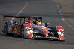 #3 Audi Sport Team Joest Audi R10: Майк Роккенфеллер, Александр Према, Лукас Лур