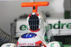 Air intace of Rubens Barrichello, Honda Racing F1 Team