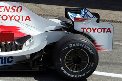 Rear Wing of the Toyota