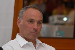Pre-event press conference: Richard Schalber