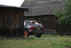 #2 Porsche Italia Porsche Cayenne S Transsyberia: Antonio Tognana and Carlo Cassina