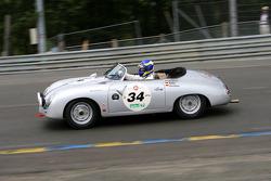 #34 Porsche 356 A Speedster 1957: Stefan Eckert, Thomas Eder