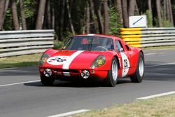 #28 Porsche 904/6 1964: Gareth Burnett, Geoffrey Lister