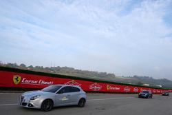 Equipo de Motorsport.com en Finali Mondiali Ferrari 2015