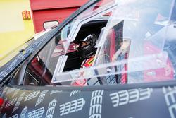 #283 The Collection Ferrari 458: Gregory Romanelli in the pitlane