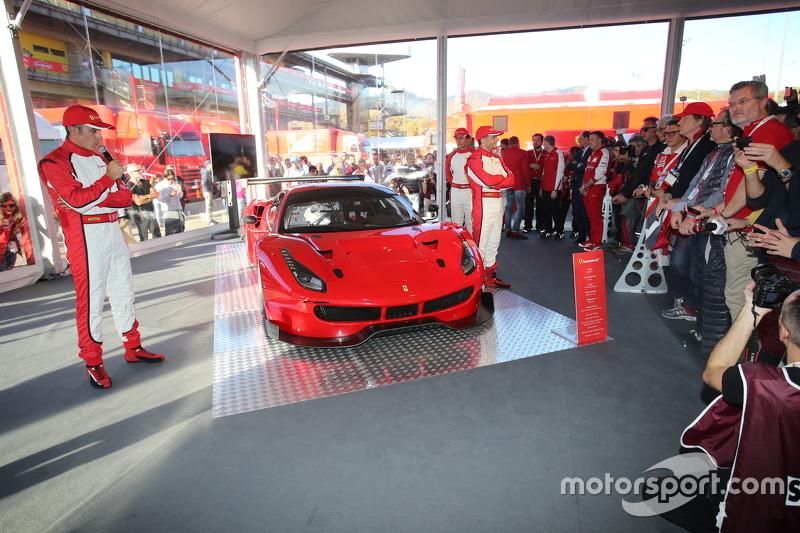 La Ferrari 488 GT4