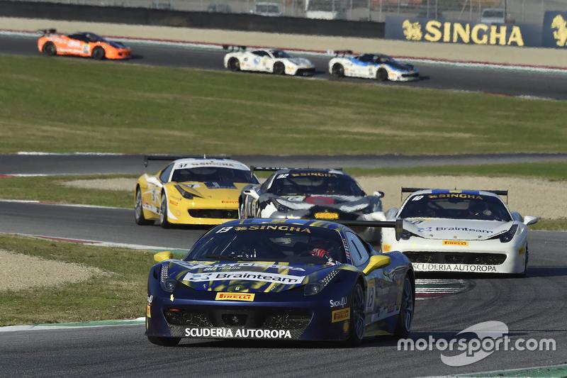 السيارة رقم 13 روسوكورسا فيراري 458: مارتن نيلسون