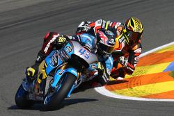 Scott Redding, Marc VDS Racing Honda and Loris Baz, Forward Racing Yamaha