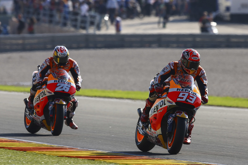 Марк Маркес та Дані Педроса, Repsol Honda Team
