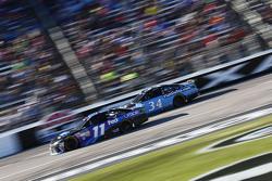 Denny Hamlin, Joe Gibbs Racing Toyota et Brett Moffitt