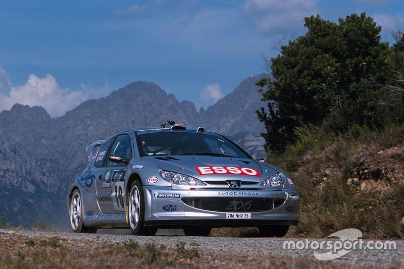 Gilles Panizzi and Hervé Panizzi, Peugeot Sport Peugeot 206 WRC