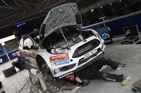 Área del equipo M-Sport Ford Fiesta WRC