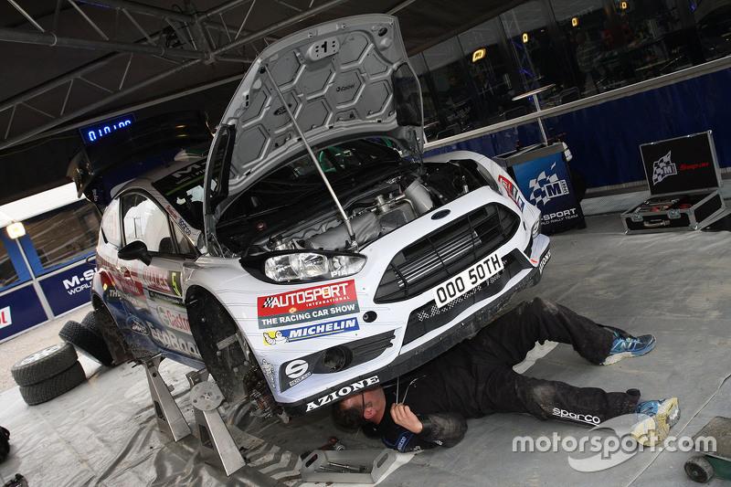 M-Sport Ford Fiesta WRC територія команди