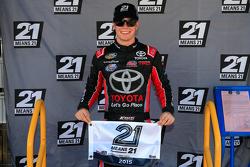 Polesitter Erik Jones, Kyle Busch Motorports Toyota