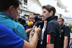 Ромен Грожан, Lotus F1 Team з медіа