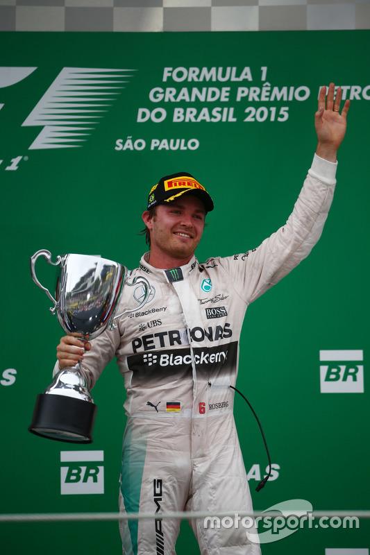 Race winner Nico Rosberg, Mercedes AMG F1 W07