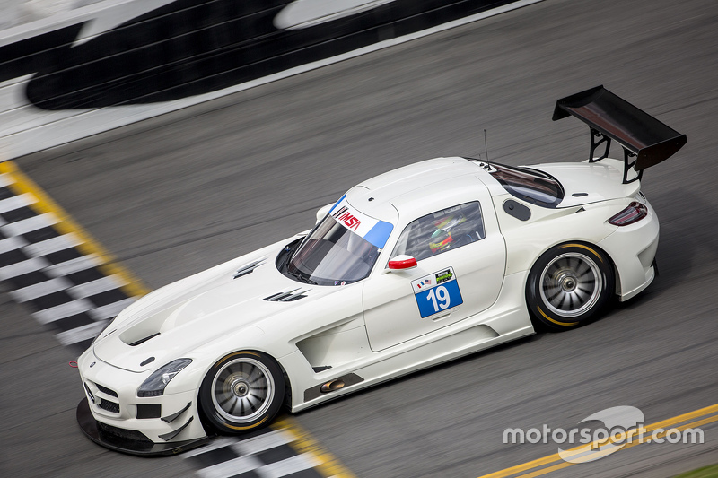 #19 Dragonspeed, Mercedes SLS AMG GT3
