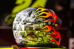 Helmet for the last race of Jeff Gordon, Hendrick Motorsports Chevrolet