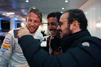 Jenson Button Y Daniel Ricciardo